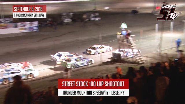 Street Stock 100 Lap Shootout - Thund...