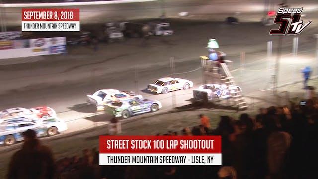 Street Stock 100 Lap Shootout - Thund...