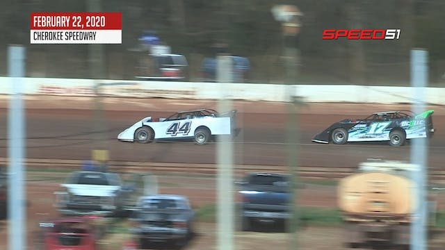 604 Late Models at Cherokee - Highlig...