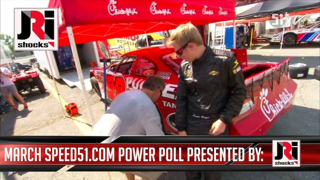 Power Poll Presented by JRI For March...