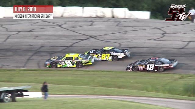 NASCAR Late Models at Madison - Highl...