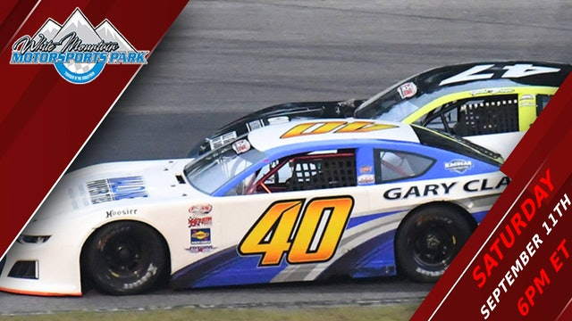 PASS Super Late Models at White Mountain - Replay - Sept 18, 2021 - Part 2