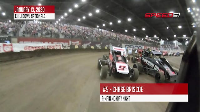 Chase Briscoe at Chili Bowl - On Board