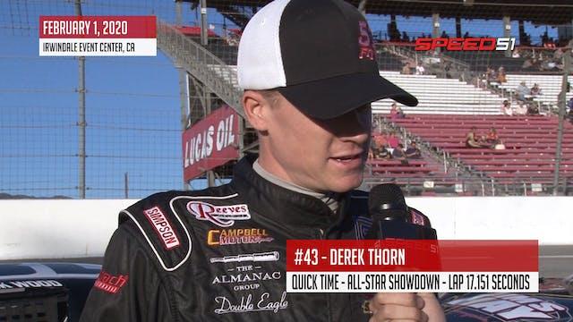 Derek Thorn Scores Pole at All-Star S...