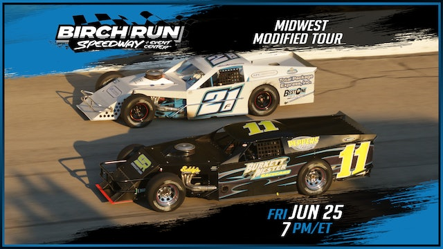 LIVE Midwest Modified Tour at Birch Run - June 25, 2021
