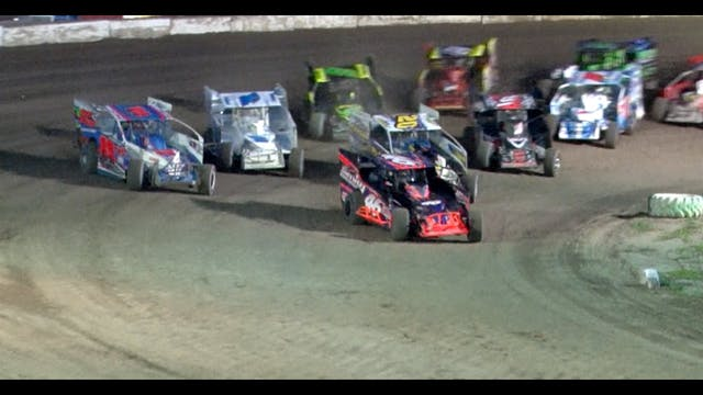 Short Track Super Series Afton Action...