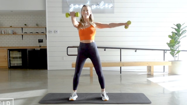 30 Minute Dumbbell Arms