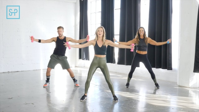 Dance + Dumbbell Arms