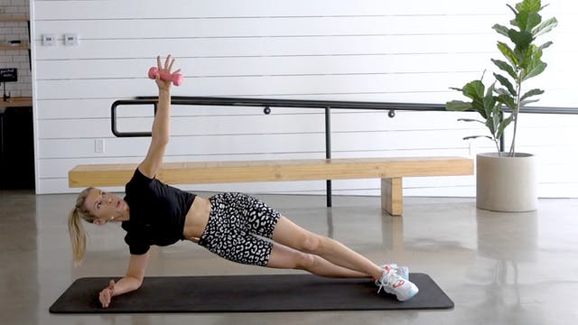 20 Minute Dumbbell Abs