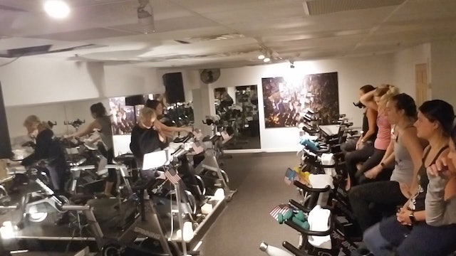 Spin Labor Day Jackie  & #marinucci 8am