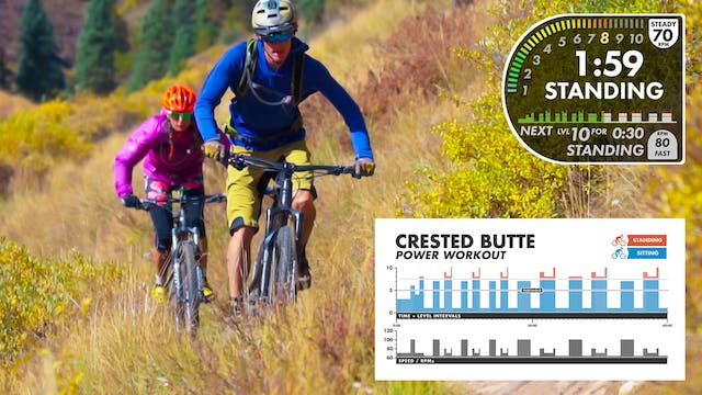 """Crested Butte (1 hour) """"POWER"""" Workout"""