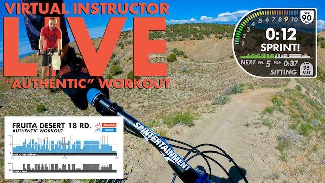 Fruita Desert FPV AUTHENTIC W/Live Virtual Instructor