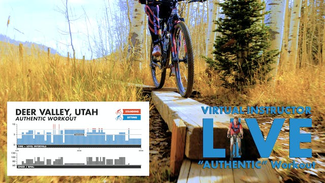Deer Valley AUTHENTIC - W/ Live Virtual Instructor