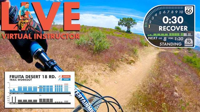 Fruita Virtual Instructor FPV TRAIL Workout
