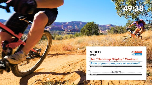 """Mary's Loop & Horsethief Bench """"FREE RIDE"""" W/Countdown Timer"""