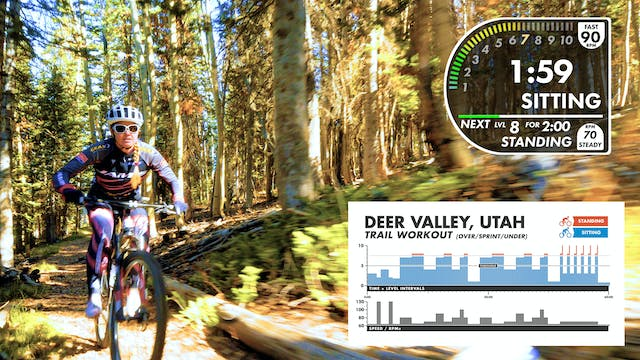 """Deer Valley """"TRAIL"""" Workout"""