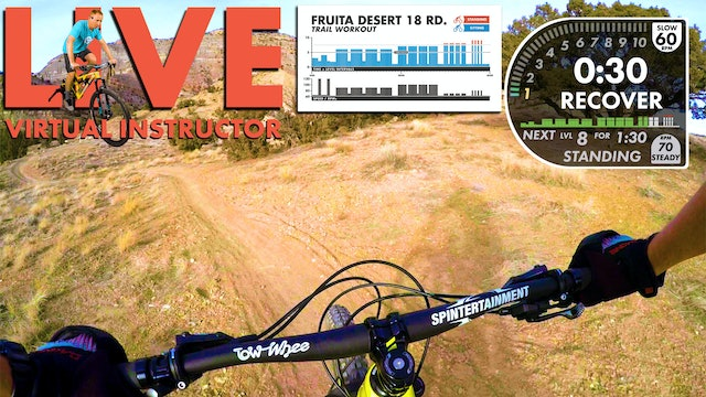 Fruita Virtual Instructor FPV TRAIL Workout