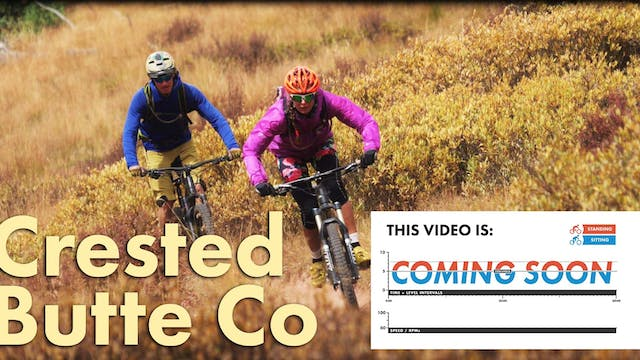 """Crested Butte (2 Hour) """"XC CROSS COUNTRY"""" Workout"""