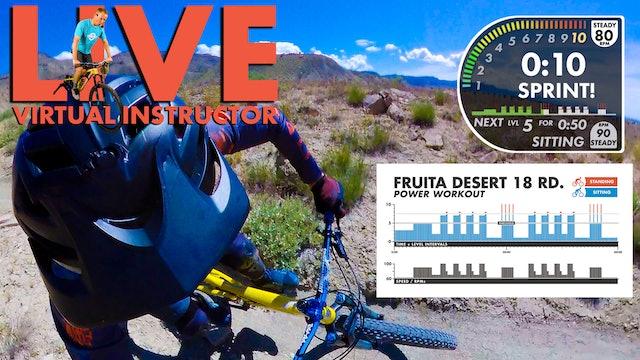 Fruita Virtual Instructor FPV POWER Workout