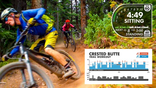 """Crested Butte """"TRAIL"""" Workout (1 Hour)"""