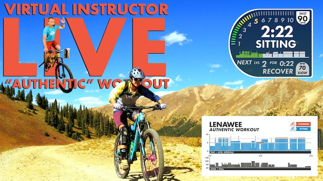 Lenawee AUTHENTIC Virtual Instructor - Timing Fixed Personal