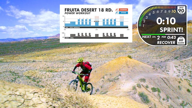 "Fruita Desert 18 Road ""POWER"" Workout"