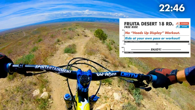 Fruita Desert FPV FREERIDE First Person View