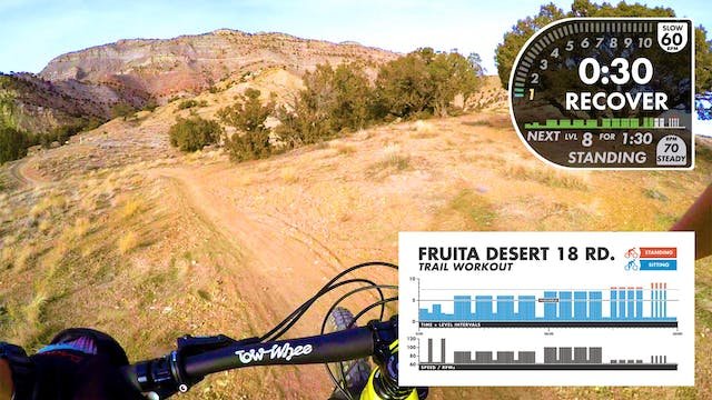 Fruita 18 Road Desert First Person View TRAIL Workout