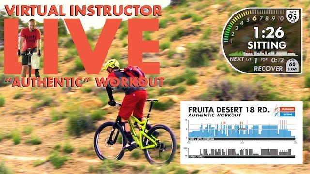 Fruita Desert * AUTHENTIC W/ Live Virtual Instructor