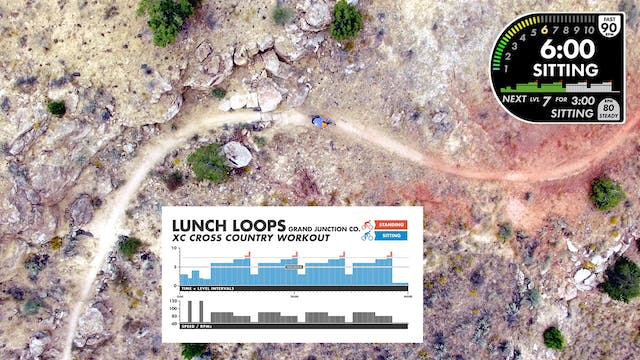 """Lunch Loops """"XC Cross Country"""" Workout"""