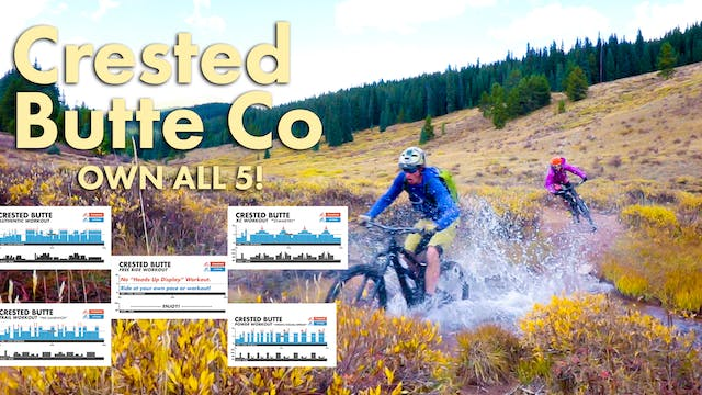 Crested Butte (1 hour) 5 Video Collection