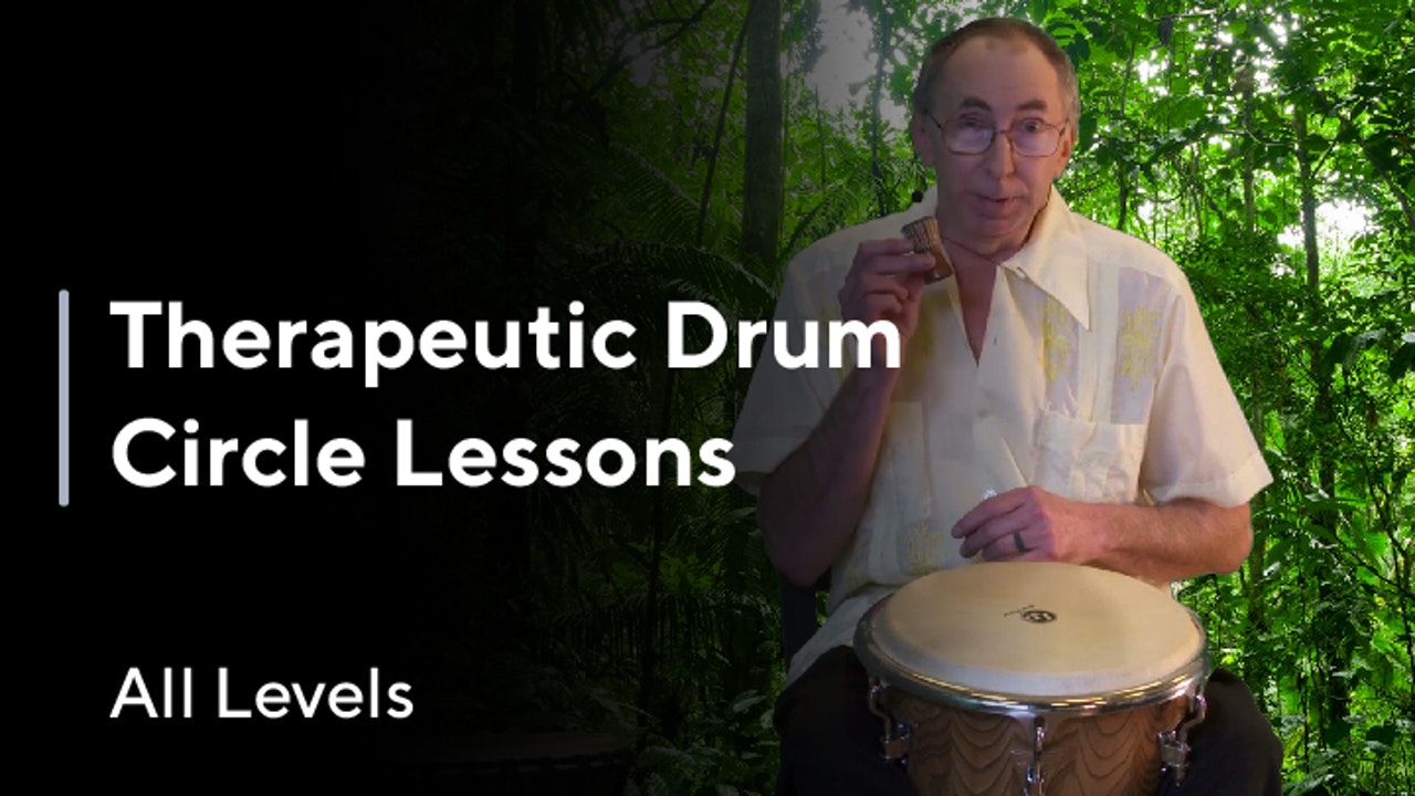 Therapeutic Drum Circle Lessons (All Levels)