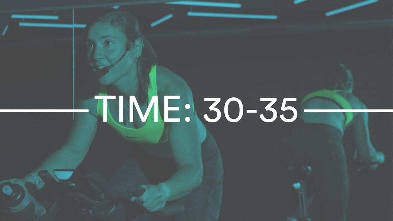 30 - 35 MINUTES