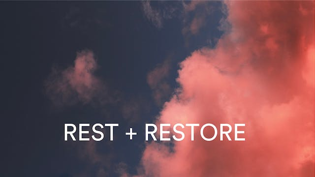 Rest + restore soundbath with Alice Rose