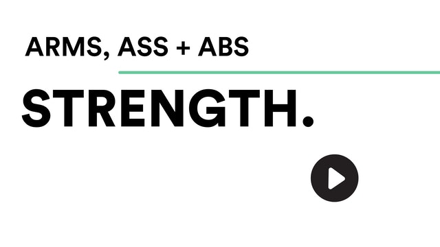(TW) Wed 20th Oct @ 8.15am – Arms, Ass + Abs with Ellie