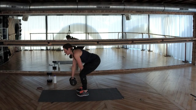 FIT 45 with Hannah (weights)