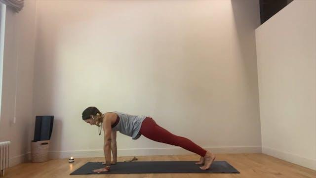23 min vinyasa yoga abdominal y brazos