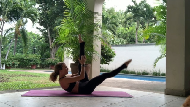 15 min pilates fit core fuerza