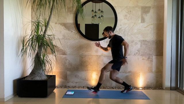 10 min entrenamiento funcional piernas squat