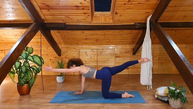 20 min pilates glúteos y piernas fuertes