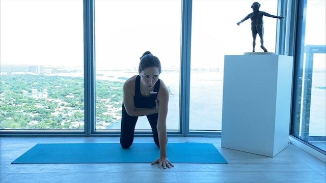 5 min pilates fortalecimiento de muñecas y hombros