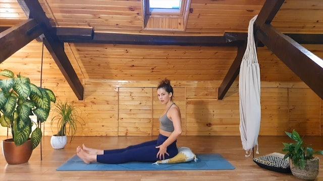 23 min pilates flow suave