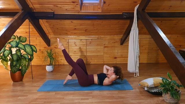 17 min pilates core fuerte avanzado