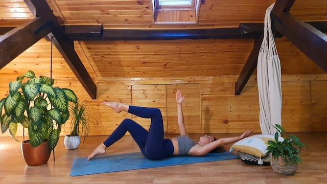 34 min pilates cuerpo entero coordinación