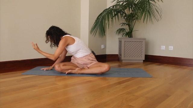44 min vinyasa yoga liberar tensiones