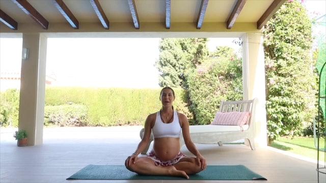 28 min yoga embarazadas soltar tensión