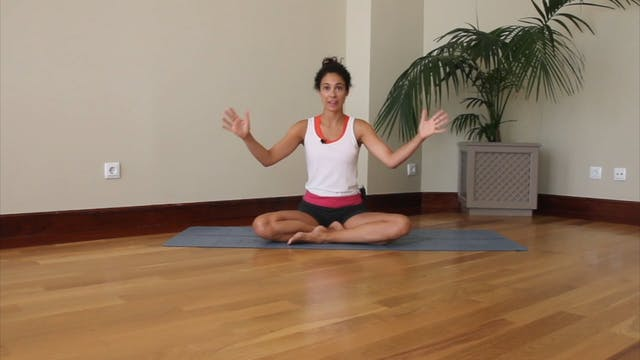 38 min vinyasa yoga déjate llevar