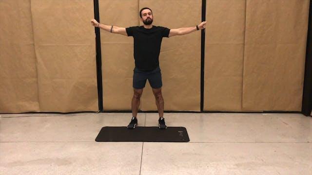 27 min HIIT y cardio cuerpo completo