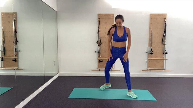 19 min fitness para piernas fuertes y largas