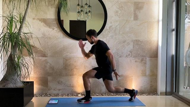 10 min entrenamiento funcional piernas fuertes